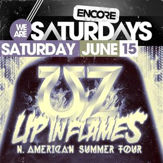 UP IN FLAMES TOUR ft. ƱZ: Main Image