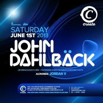 John Dahlback: Main Image