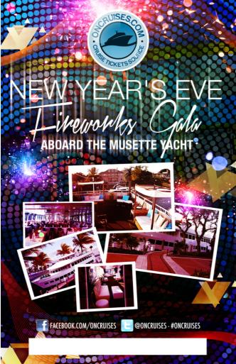 NYE Aboard the Musette Yacht