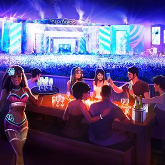 EDC Las Vegas Dining Deck: Main Image
