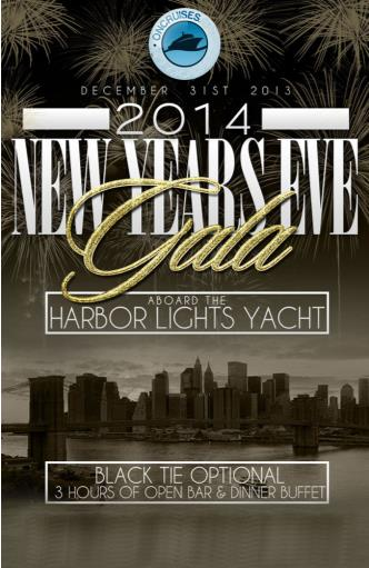 NYE Aboard the Harbor Lights