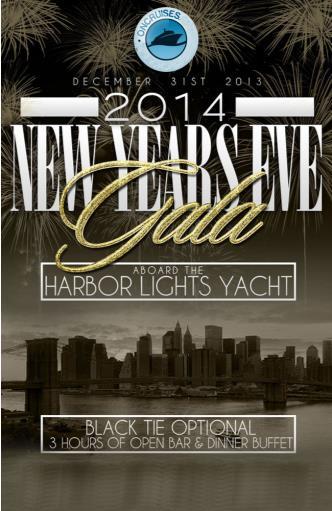 NYE Aboard the Harbor Lights