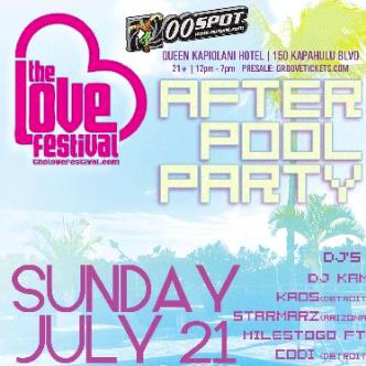 Lovefest Pool Party: Main Image