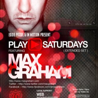 Play▶Saturdays: Max Graham: Main Image