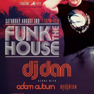 DJ DAN - Funk the House: Main Image