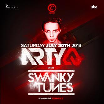 Arty & Swanky Tunes: Main Image