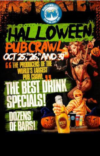 SD Gaslamp Halloween Pubcrawl