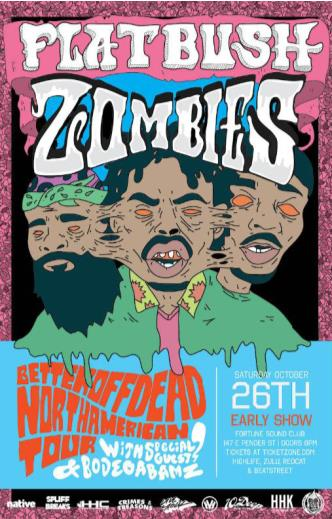 FLATBUSH ZOMBIES **Early Show*