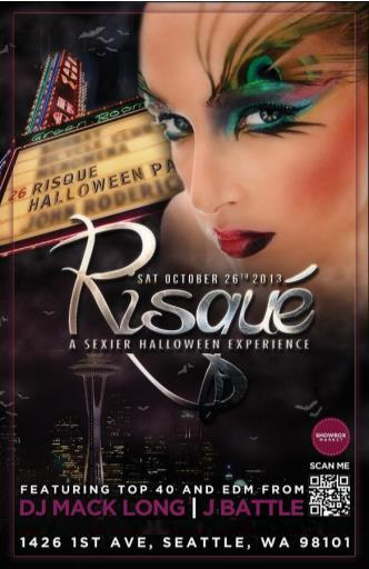Risque' Halloween Party