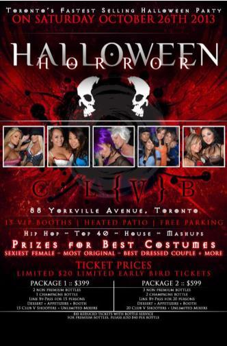 Halloween Horror 2013
