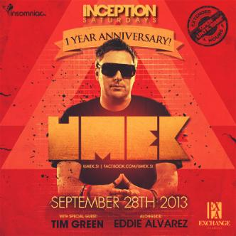 Inception ft. Umek: Main Image