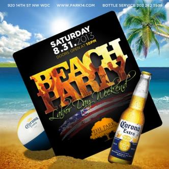 Labor Day Weekend Beach Party: Main Image