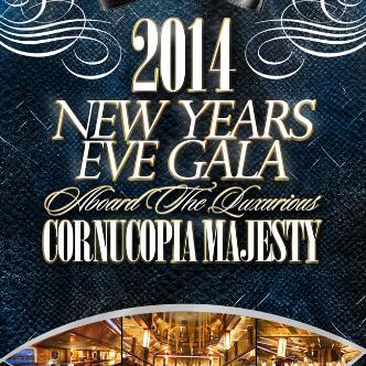 NYE aboard Cornucopia Majesty
