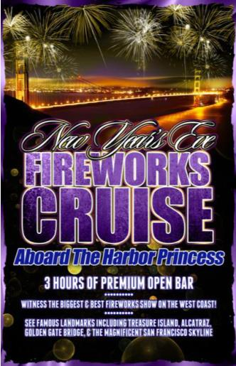 NYE aboard the Harbor Princess