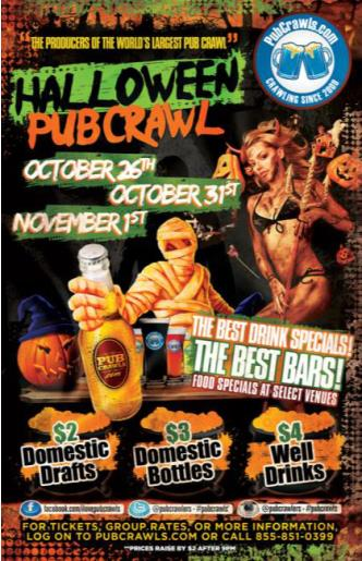 Halloween PubCrawl WASH. DC