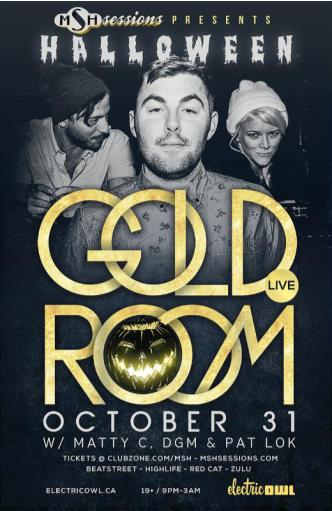 GOLDROOM AT ELECTRIC OWL