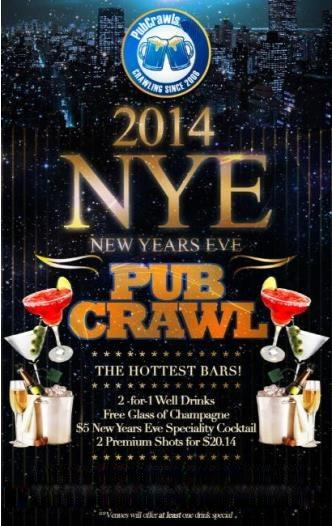 NYE PUB CRAWL WASHINGTON DC