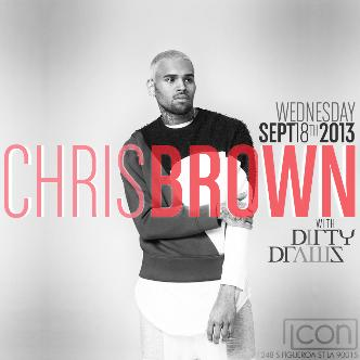 CHRIS BROWN @ Icon LA: Main Image