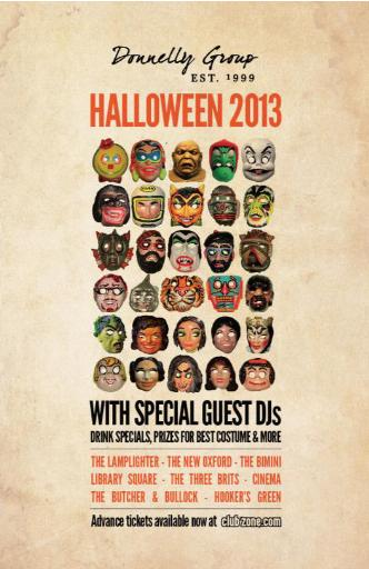 Halloween at Butcher - Nov 1