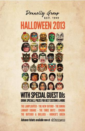 Halloween at Butcher - Nov 2