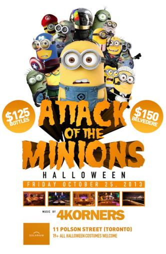 Attack Of The Minions!