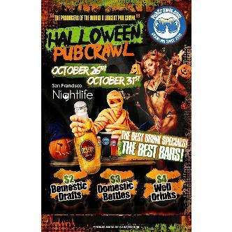 Halloween Pub Crawl SF