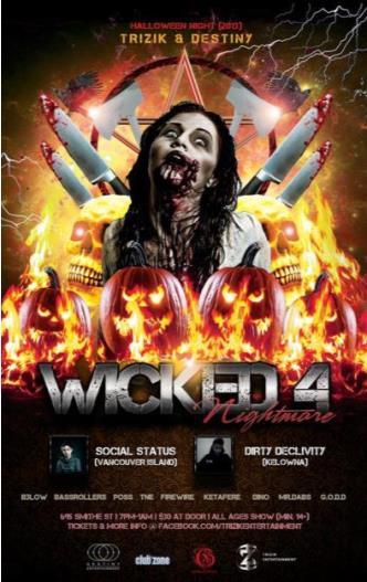 Wicked 2013 - [14+ Halloween]