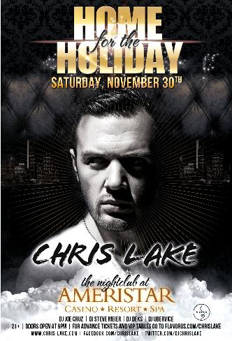 Chris Lake @ Ameristar 11/30: Main Image
