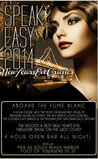 Speakeasy NYE Cruise 2014