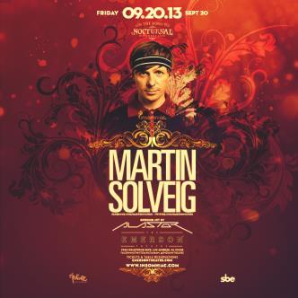 Martin Solveig: Main Image