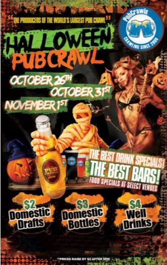 Halloween PubCrawl SF 10/31