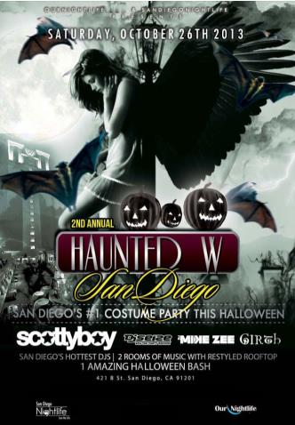 Haunted W San Diego Halloween
