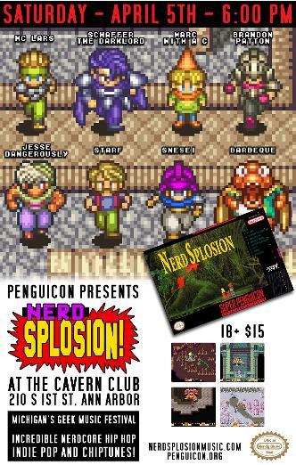 Nerdsplosion 2k14: Main Image