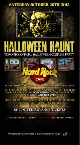 HALLOWEEN HAUNT at HARD ROCK