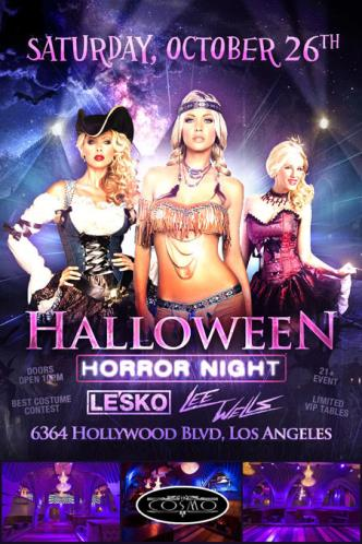 HALLOWEEN Saturday @ COSMO