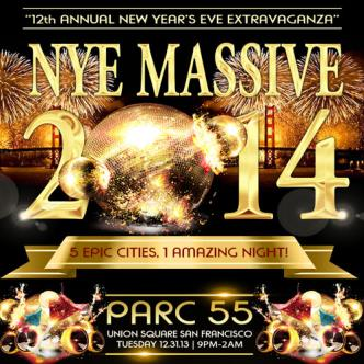 NYE Massive 2014-Union Square