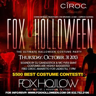 FOX-HOLLOWEEN COSTUME PARTY!