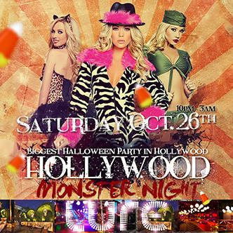 Hollywood Monster Night @ Lure