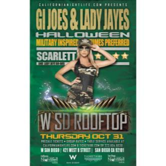 Gi Joe & Lady Jaye 10/31 Bash!