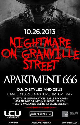 Nightmare on Granville :APT666
