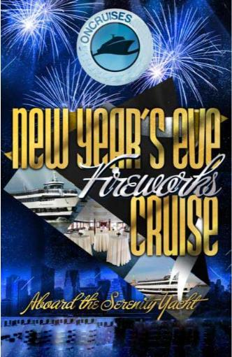 NYE Aboard The Serenity Yacht