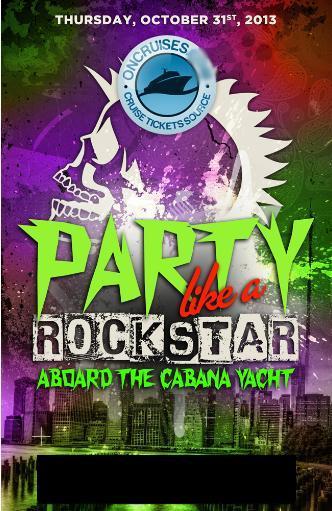Party Like A Rockstar Cabana