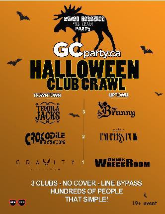 Halloween Pub Crawl 2013 TO