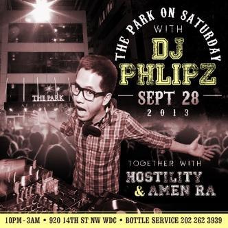DJ Phlipz LIVE: Main Image