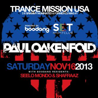 PAUL OAKENFOLD (YEG): Main Image