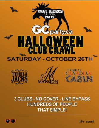 Halloween Pub Crawl 2013 - Ott