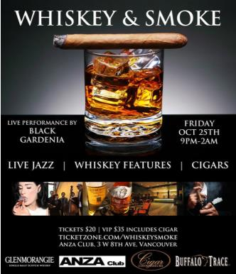 WHISKEY & SMOKE
