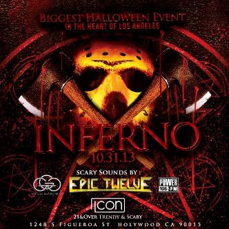 Inferno at Icon w/Epic Twelve: Main Image