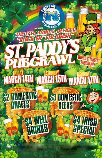 St Patrick's Day PubCrawl DC