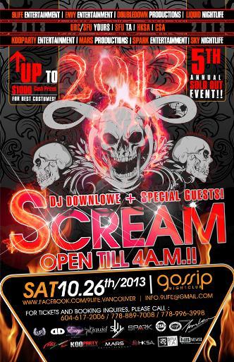 SCREAM 2013